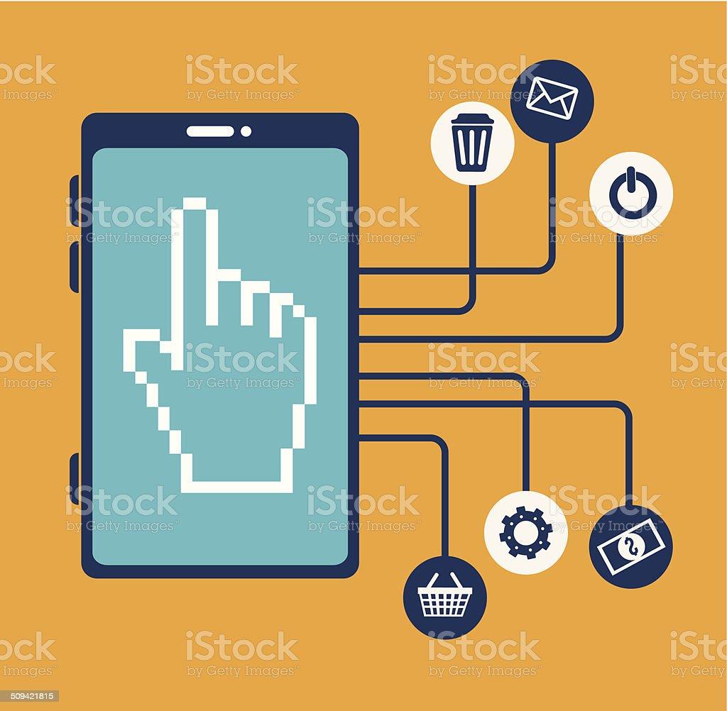 Technology design royalty-free stock vector art
