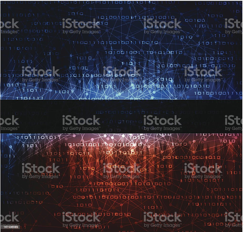 technology style background royalty-free stock vector art