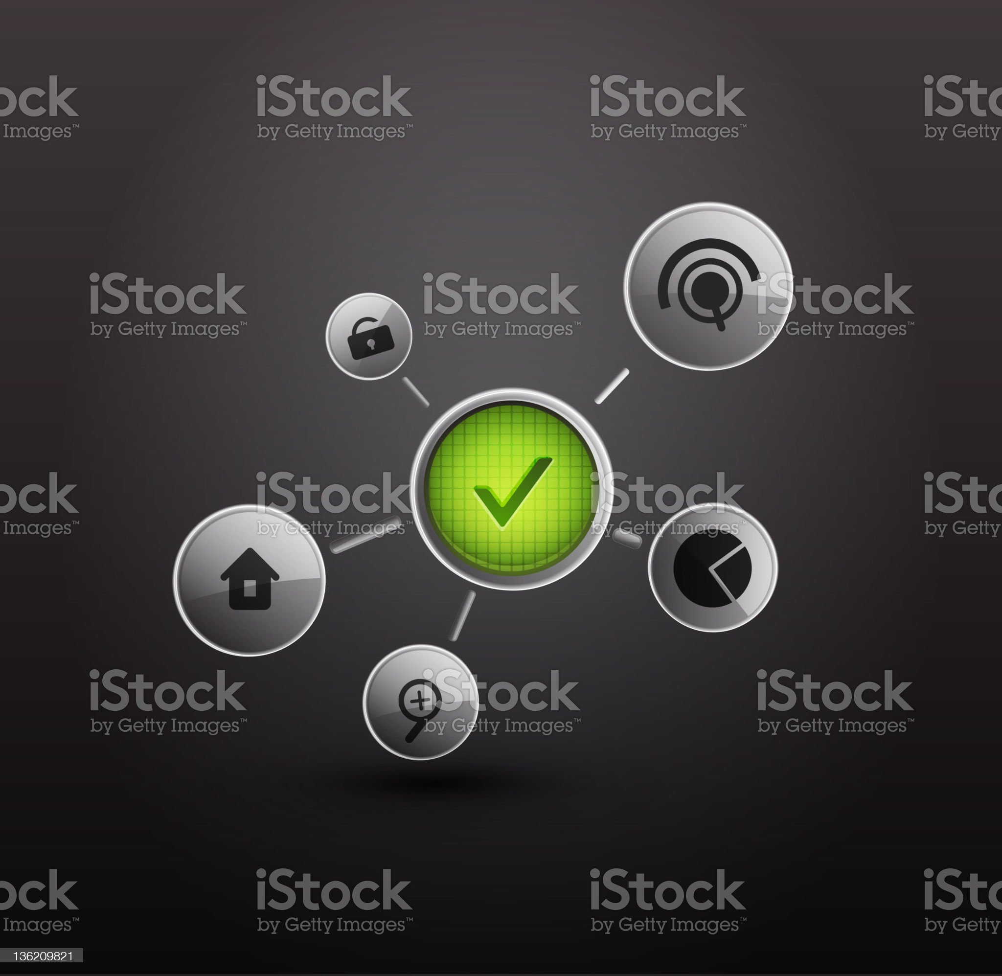 Technology vector background royalty-free stock vector art