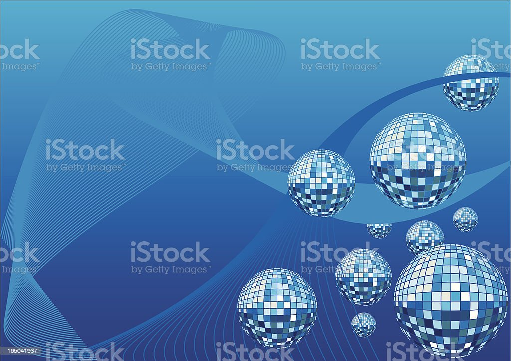 Techy Balls royalty-free stock vector art