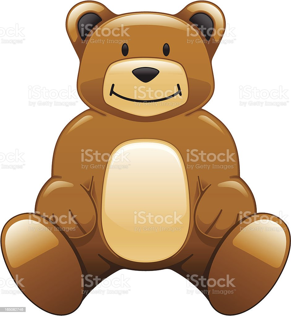 Teddy Bear royalty-free stock vector art
