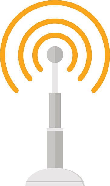 Wireless Tower Clip Art, Vector Images & Illustrations - iStock