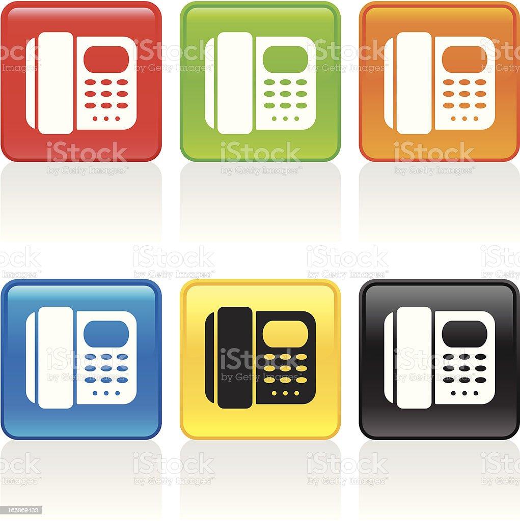 Telephone Icon royalty-free stock vector art