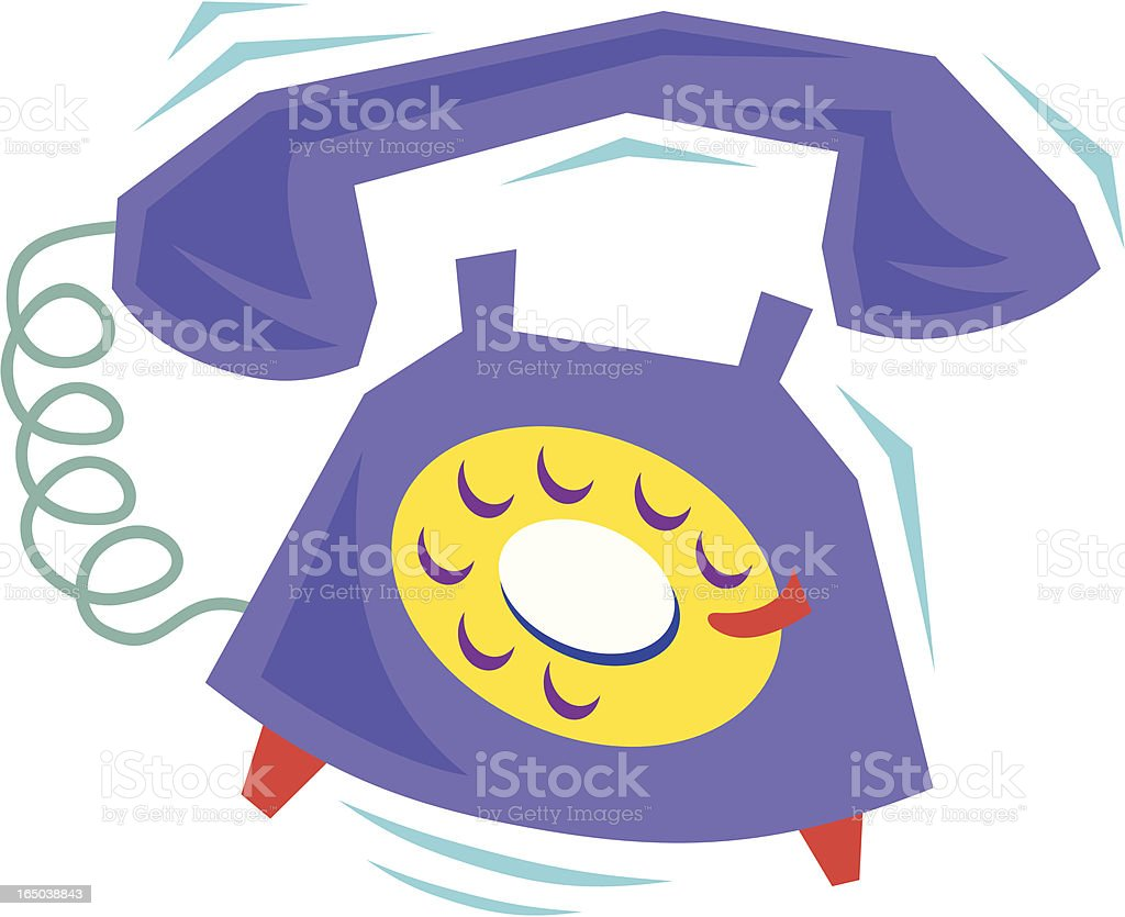 Telephone royalty-free stock vector art