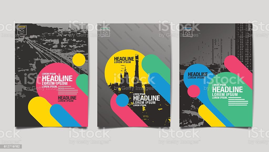 Template design Layout ,Brochure vector art illustration