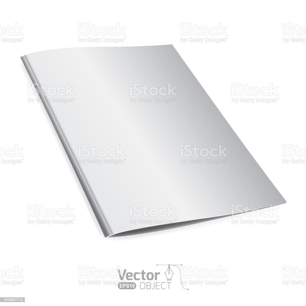 Template folder vector art illustration