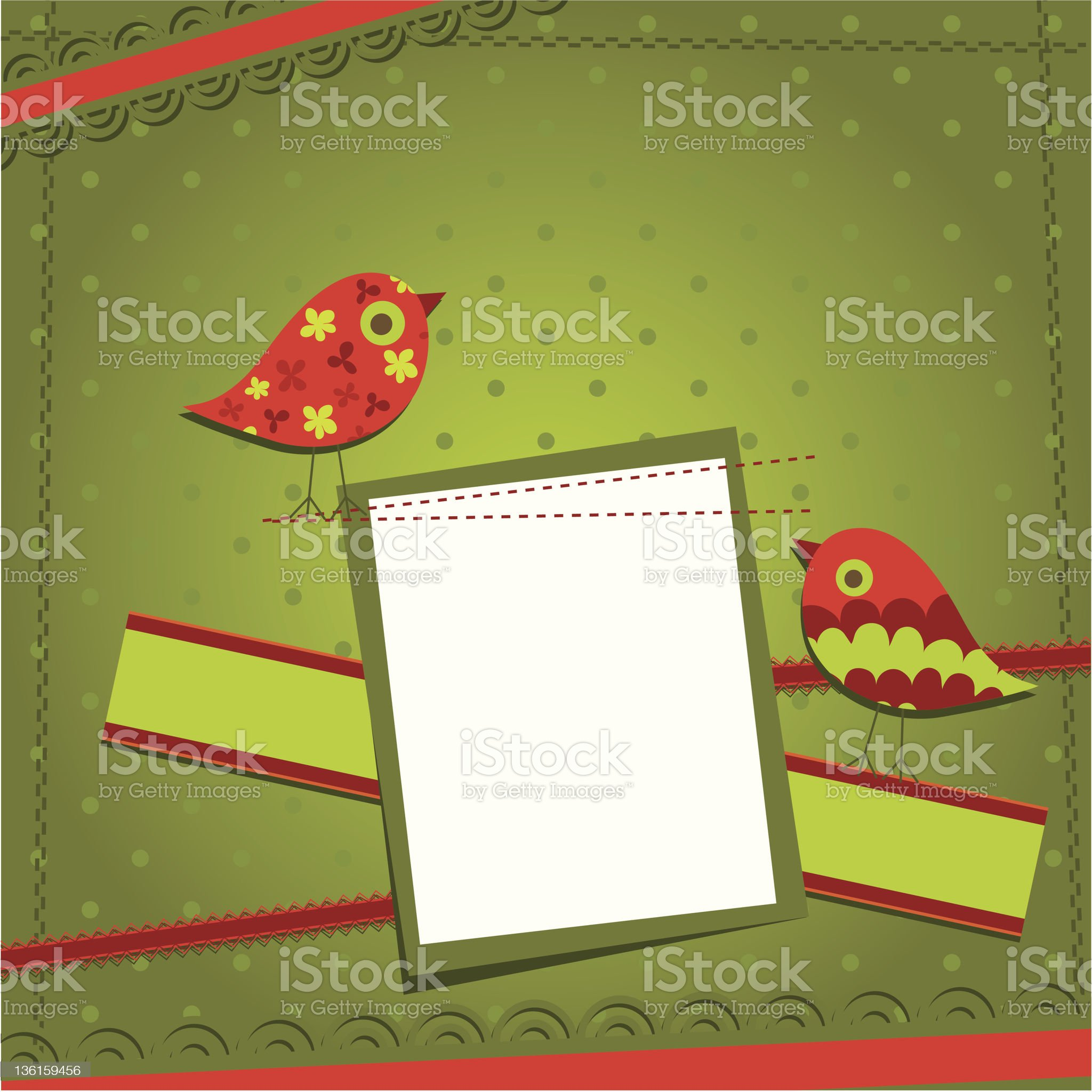 Template greeting card royalty-free stock vector art