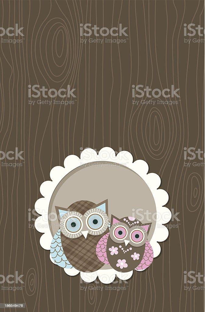 Template greeting card vector art illustration