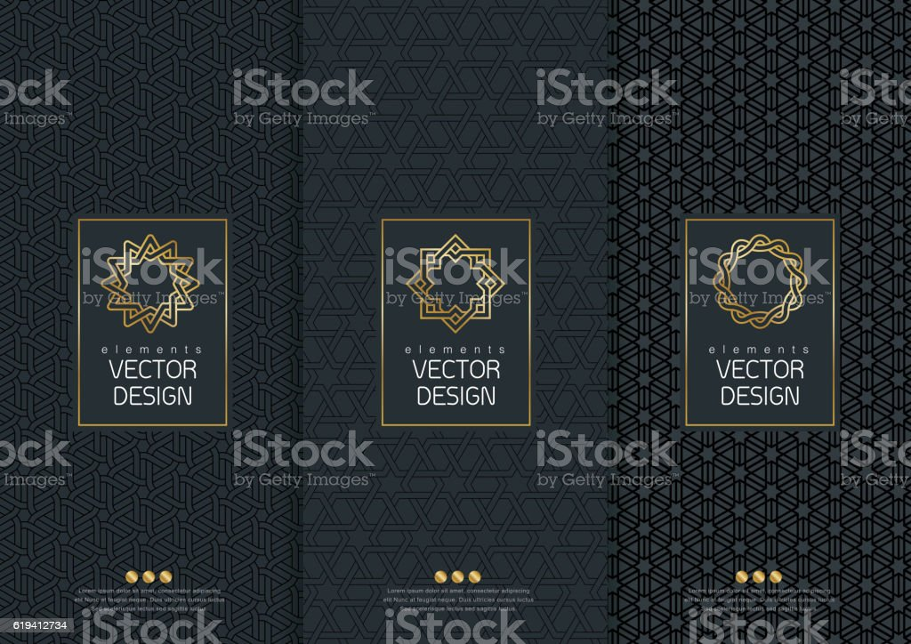 templates packaging vector art illustration