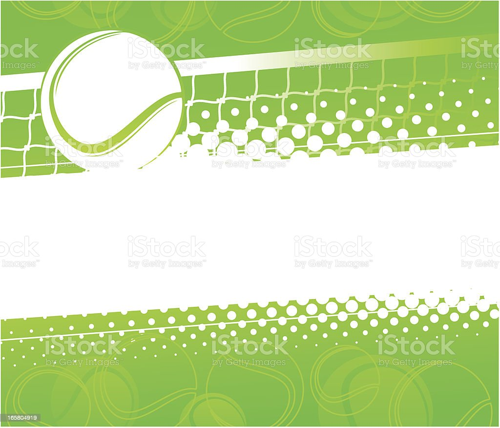 Tennis background royalty-free stock vector art