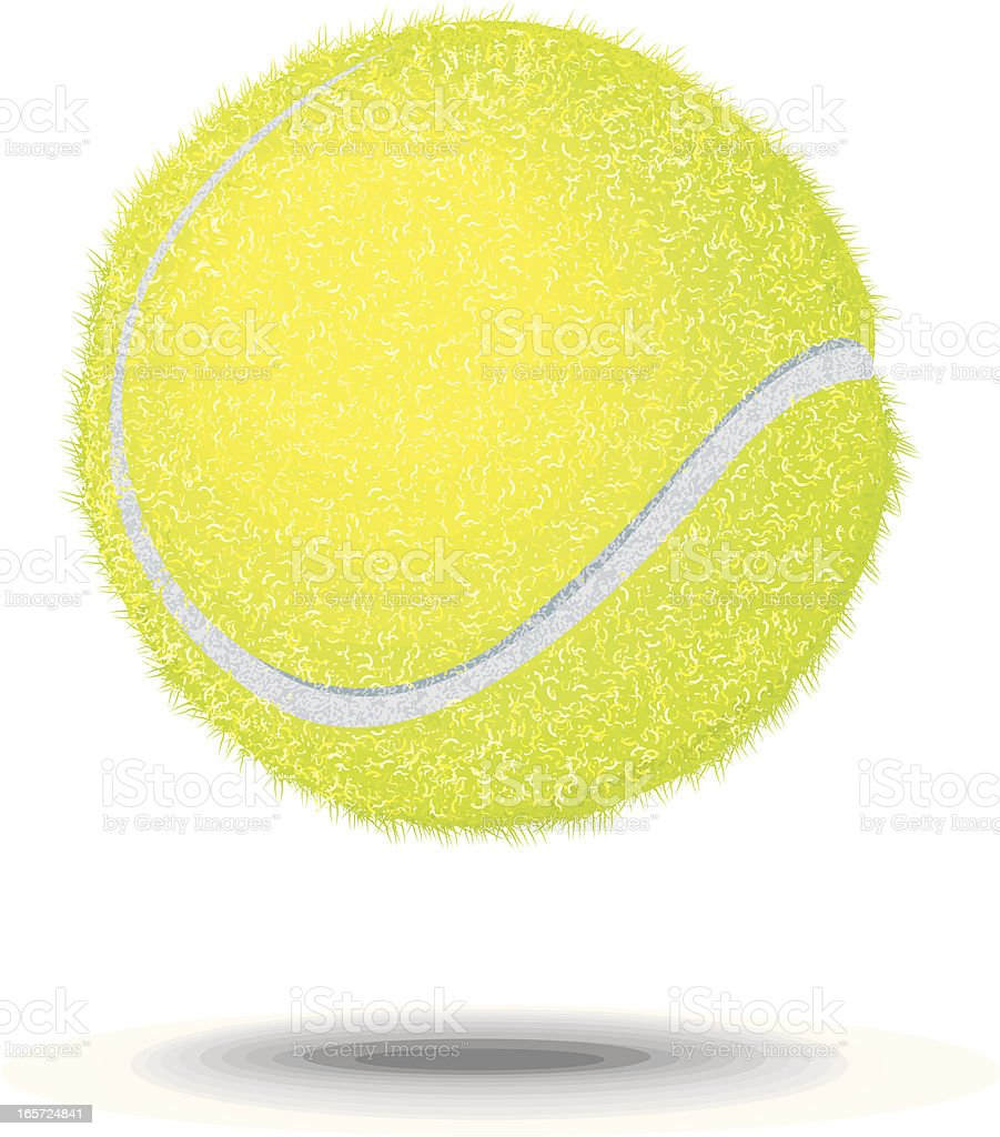Tennis Ball - Sport Background vector art illustration