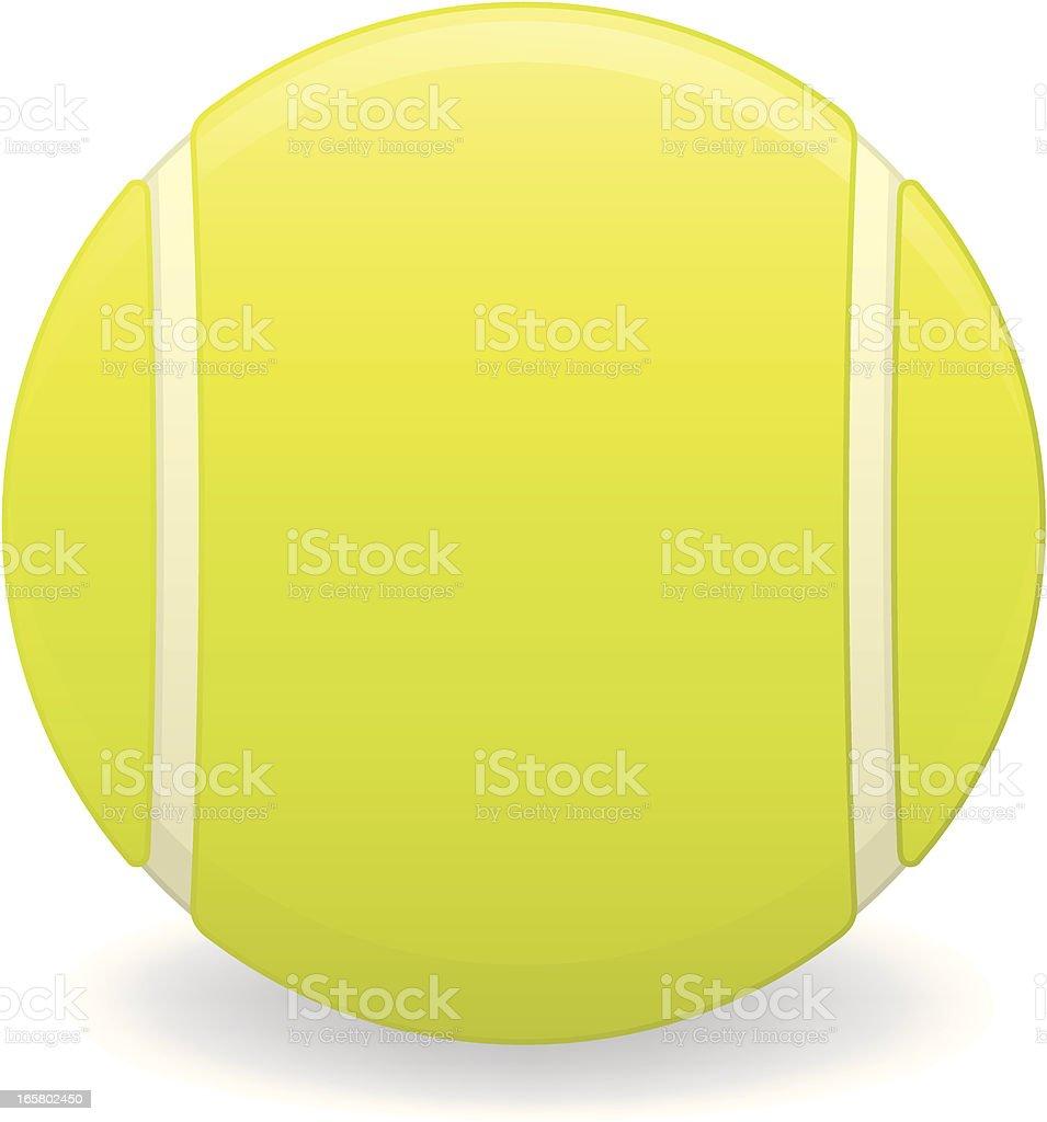Tennis Ball royalty-free stock vector art