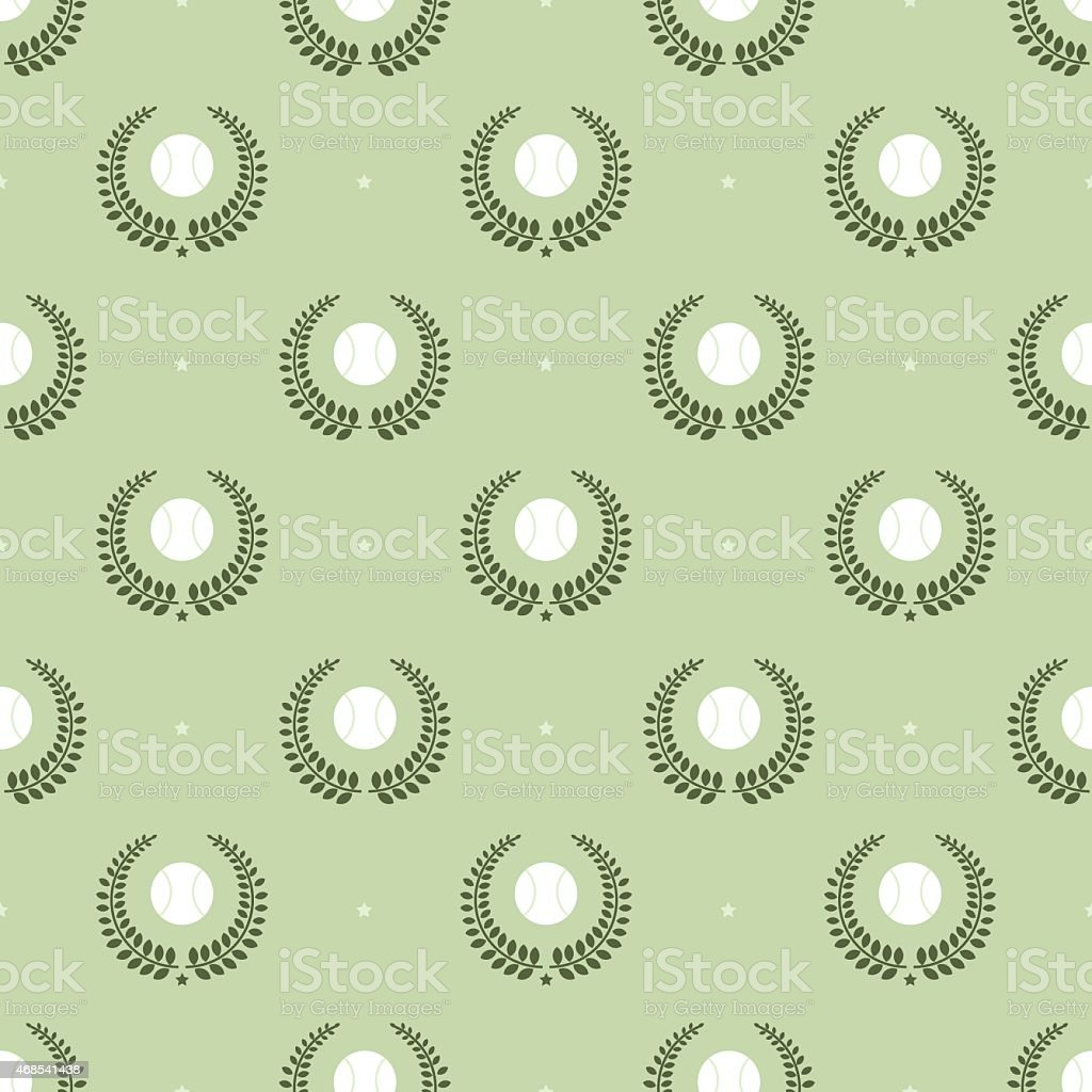 tennis balls pattern vector art illustration