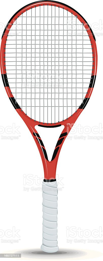 Tennis Racket Racquet Sports Equipment vector art illustration