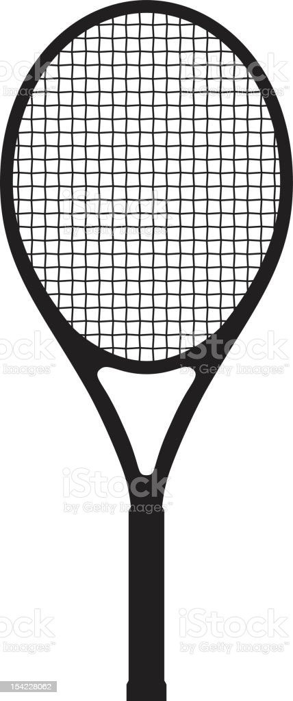 Tennis Racket royalty-free stock vector art