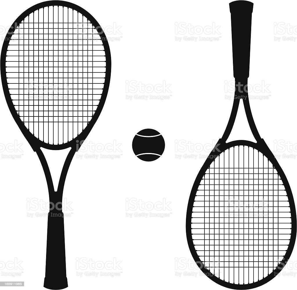 tennis set royalty-free stock vector art
