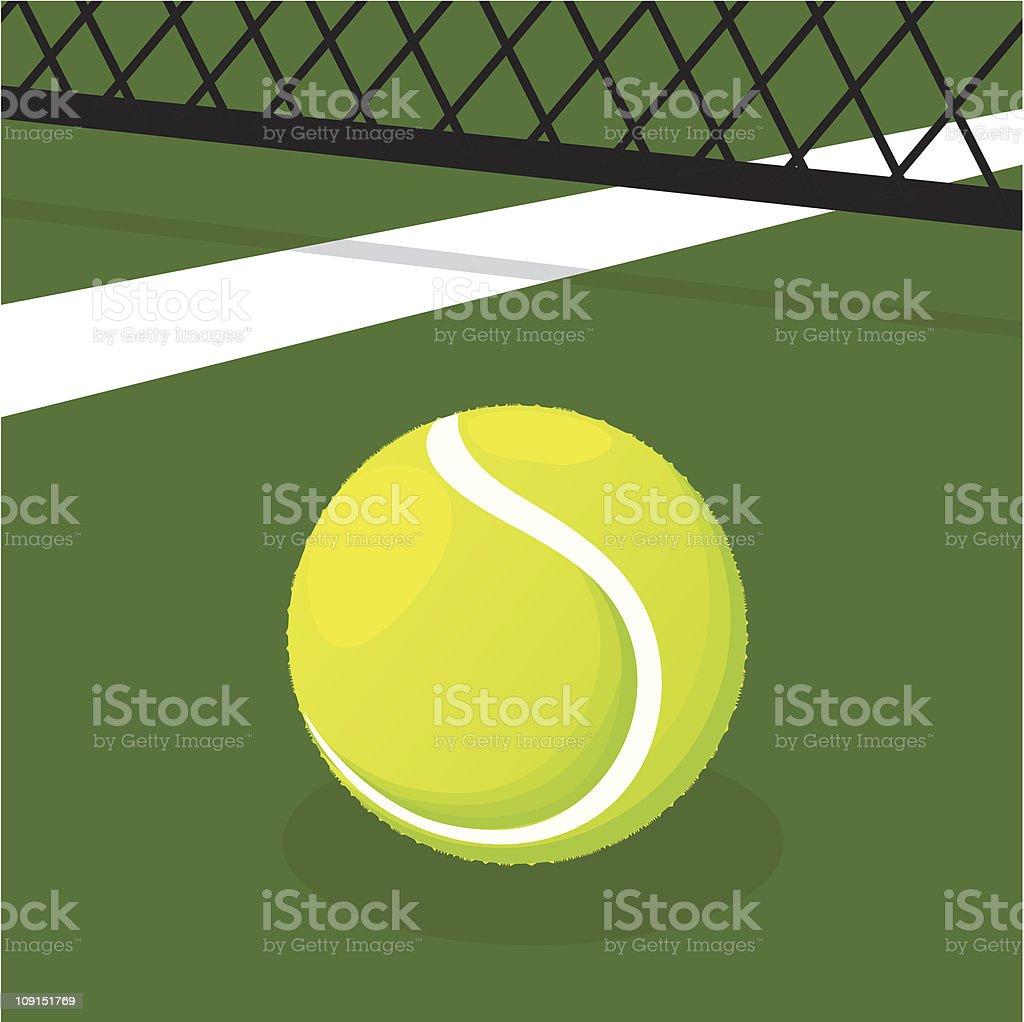 tennis royalty-free stock vector art