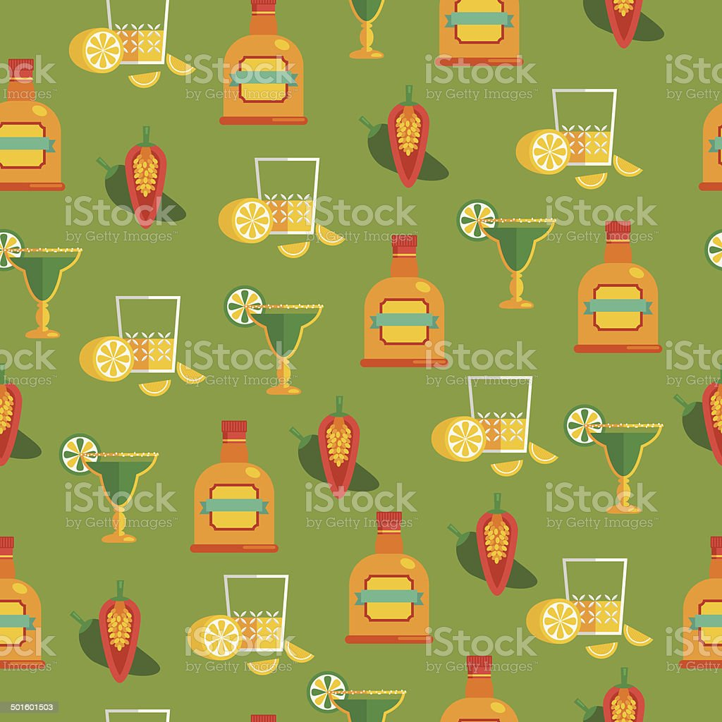 tequila pattern royalty-free stock vector art