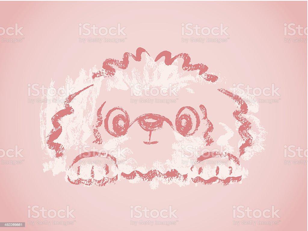 Terrier sketch royalty-free stock vector art