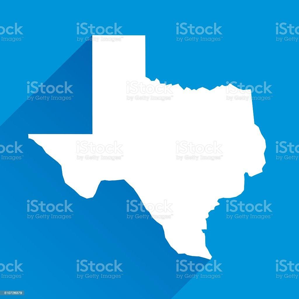 Texas Icon vector art illustration