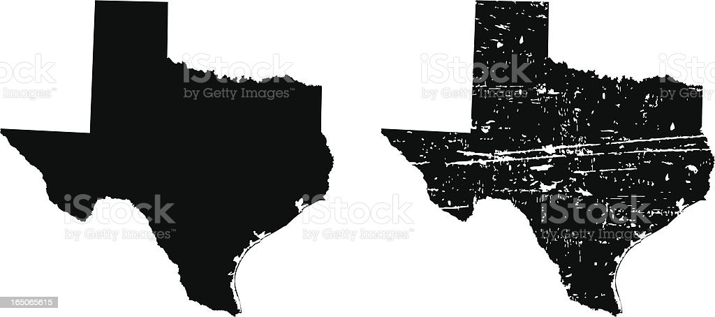 Texas vector art illustration