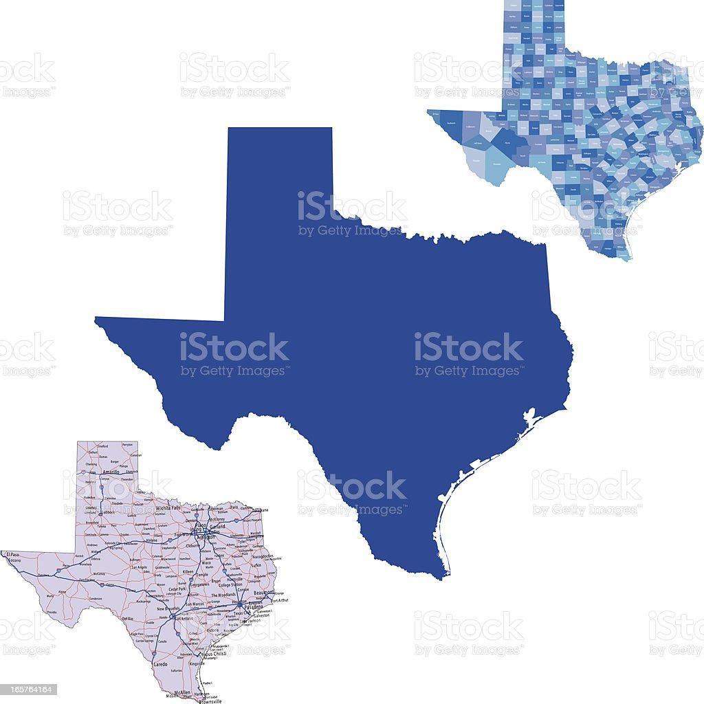 Texas royalty-free stock vector art