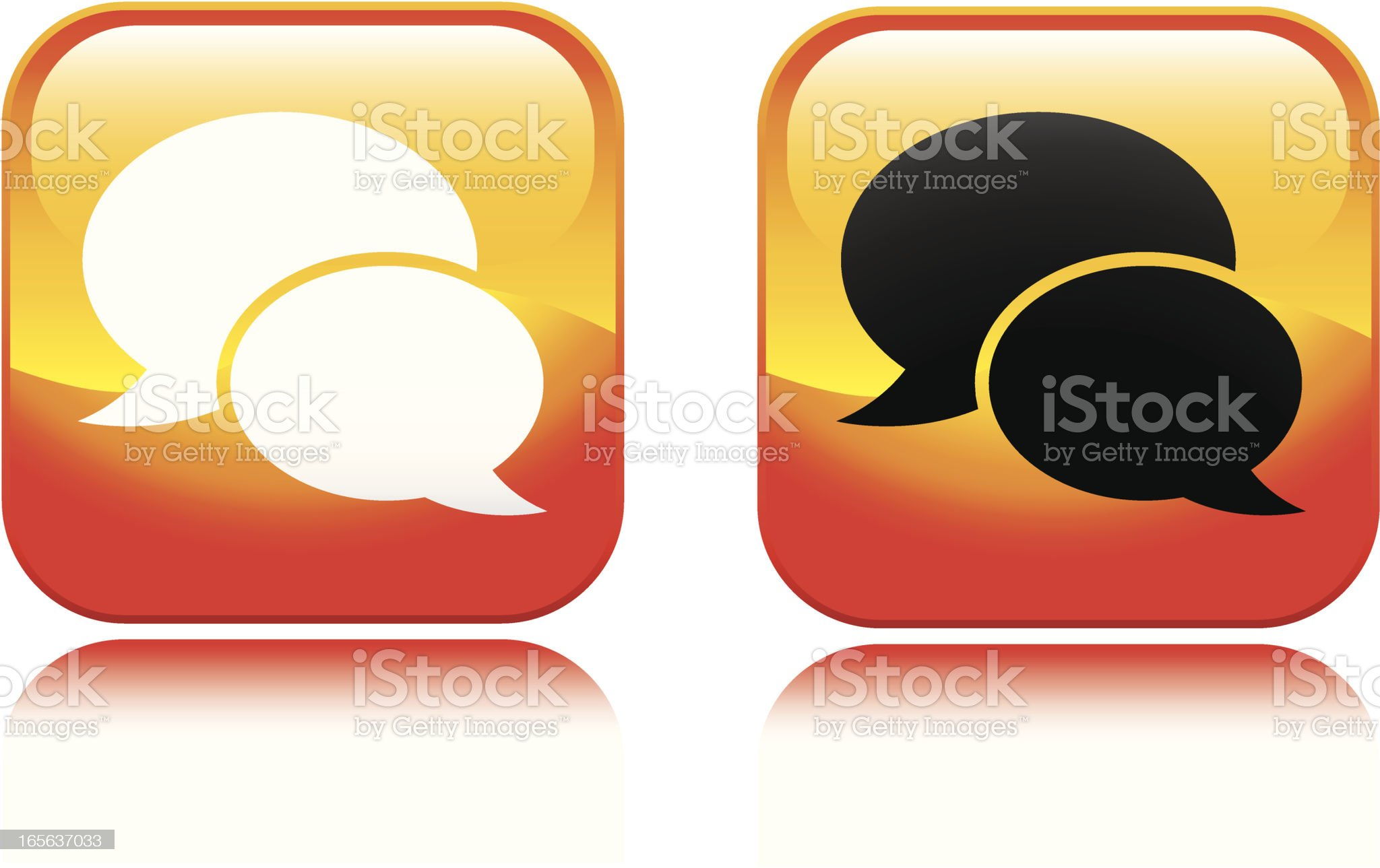 Texting Icon royalty-free stock vector art