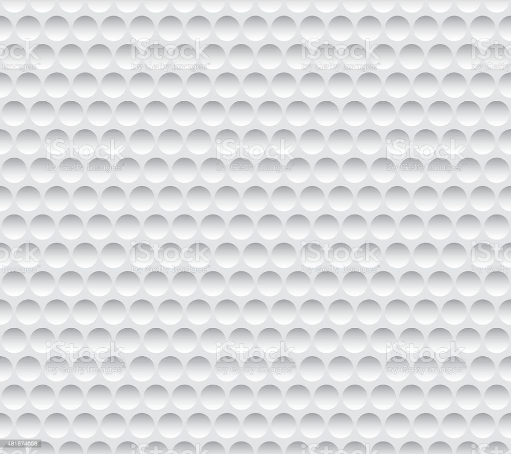 Texture Golf Ball Seamless vector art illustration