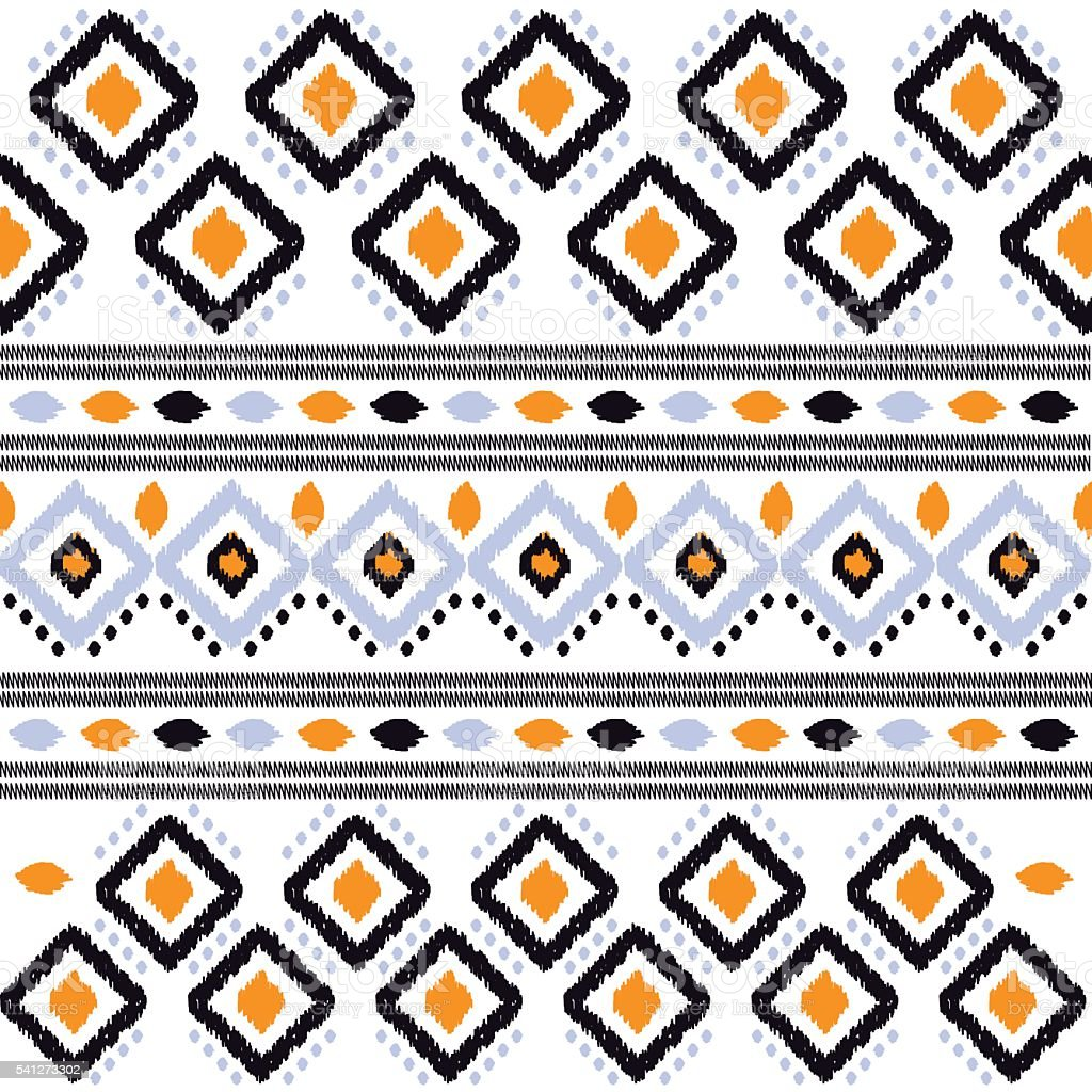 texture ikat vector art illustration