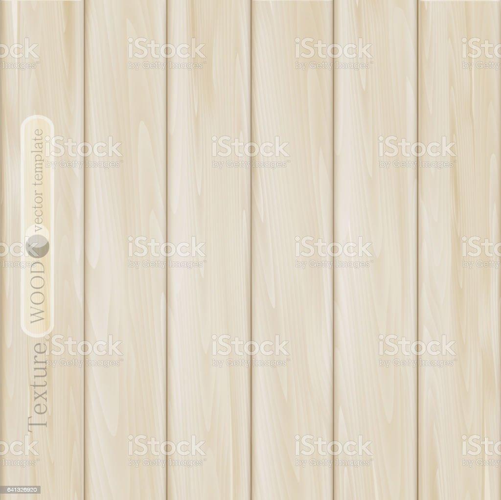 texture of light brown (beige) wooden planks vector art illustration