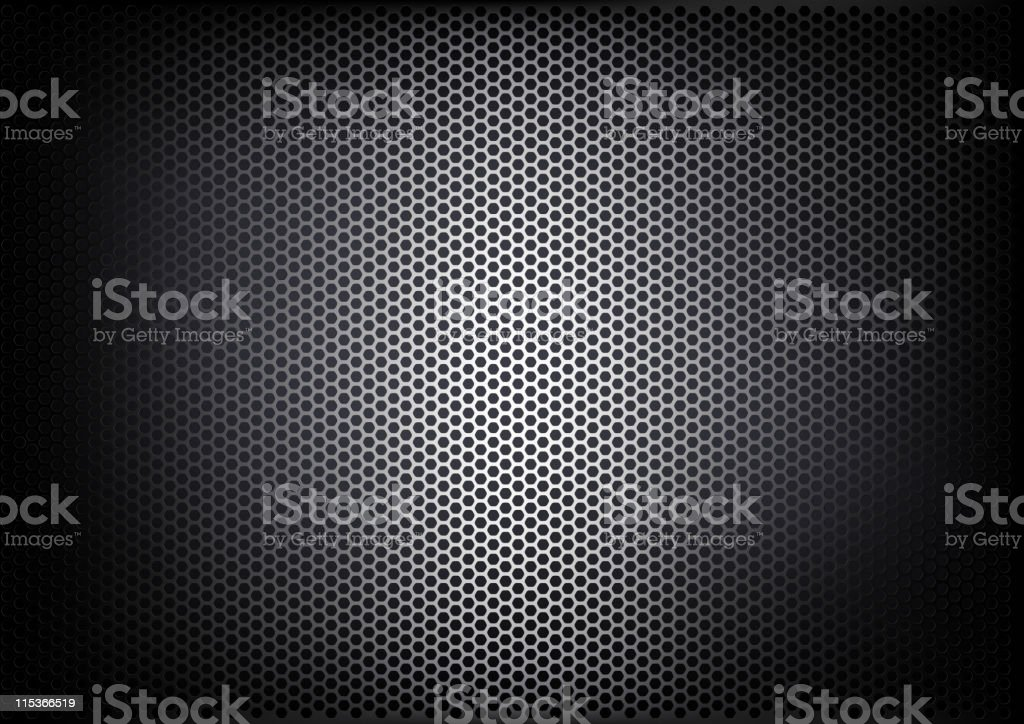 Texture of metalic mesh (detailed vector) royalty-free stock vector art