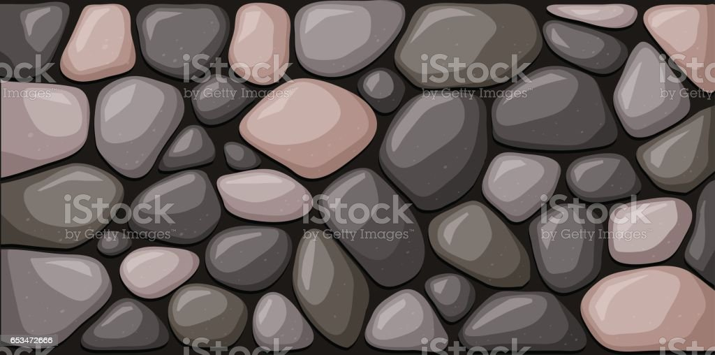 Texture of stone blocks. Vector illustration vector art illustration