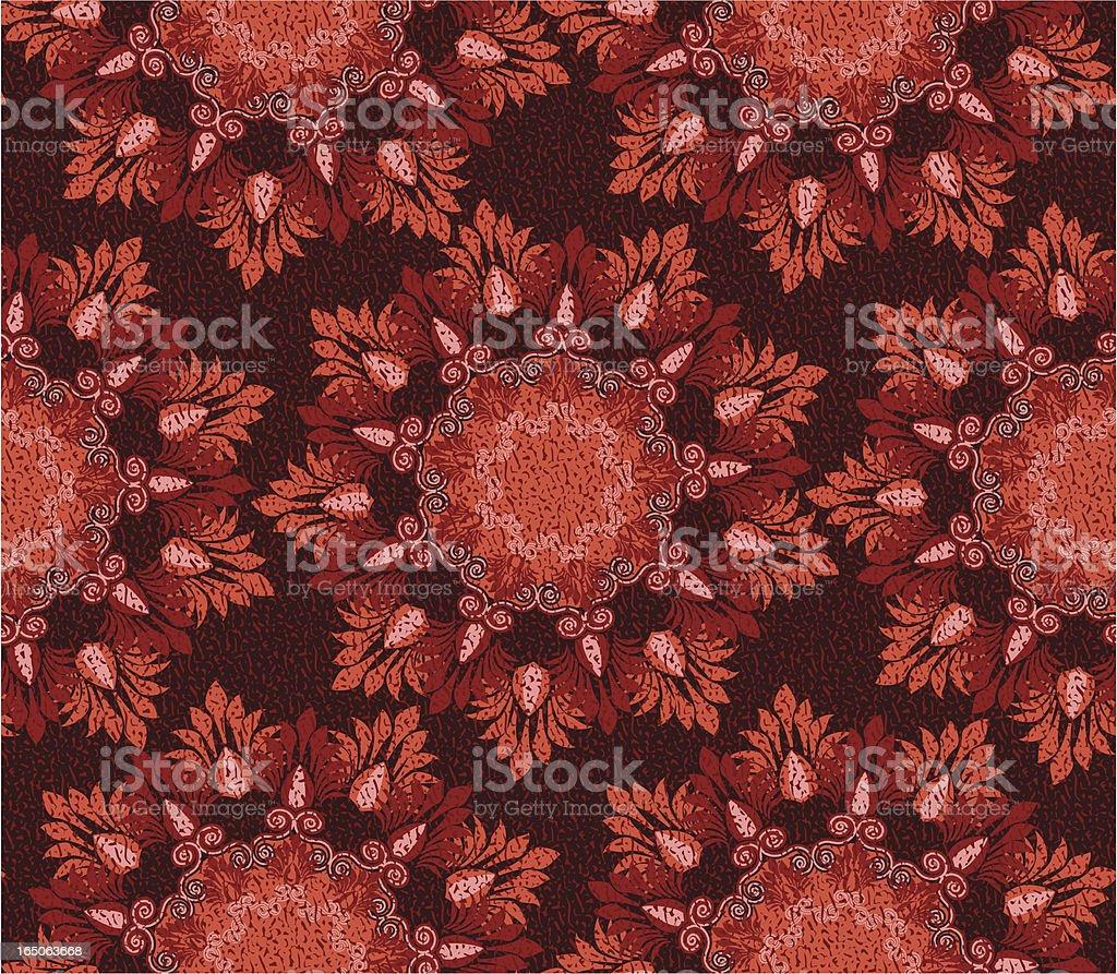 Textured decorative print royalty-free stock vector art