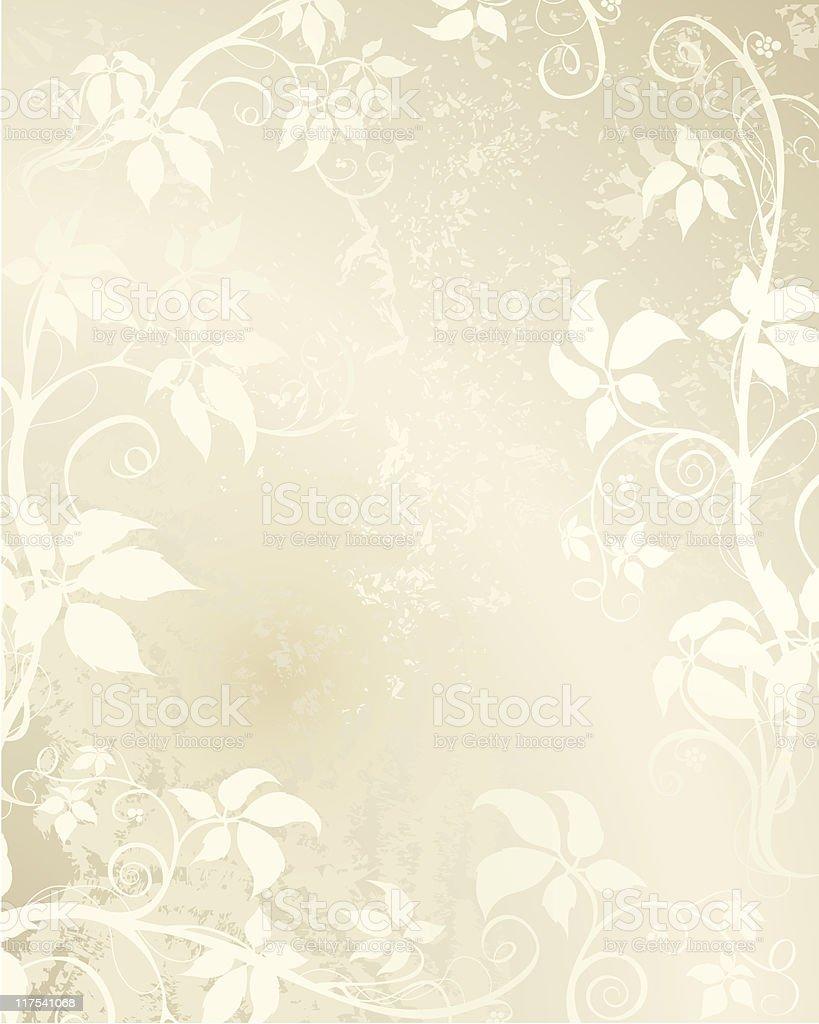 Textured Vine Border royalty-free stock vector art