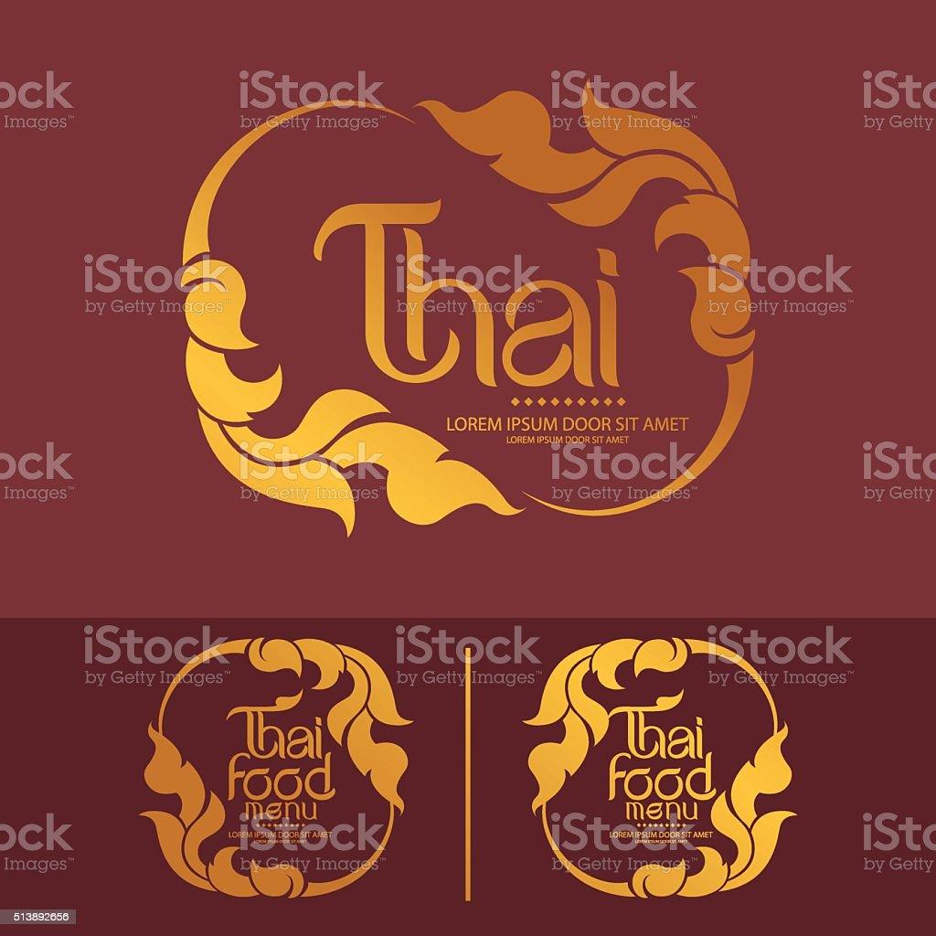 Thai Art Vector vector art illustration
