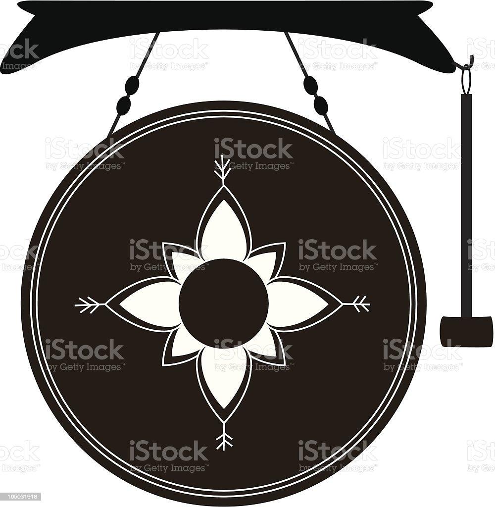 Thai Gong (Vector) royalty-free stock vector art