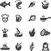 Thai restaurants Silhouette Icons