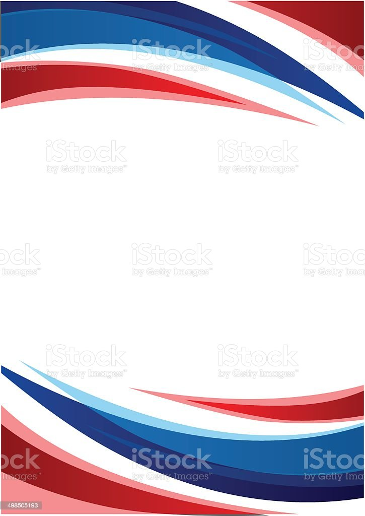 Thailand Flag Abstract background royalty-free stock vector art