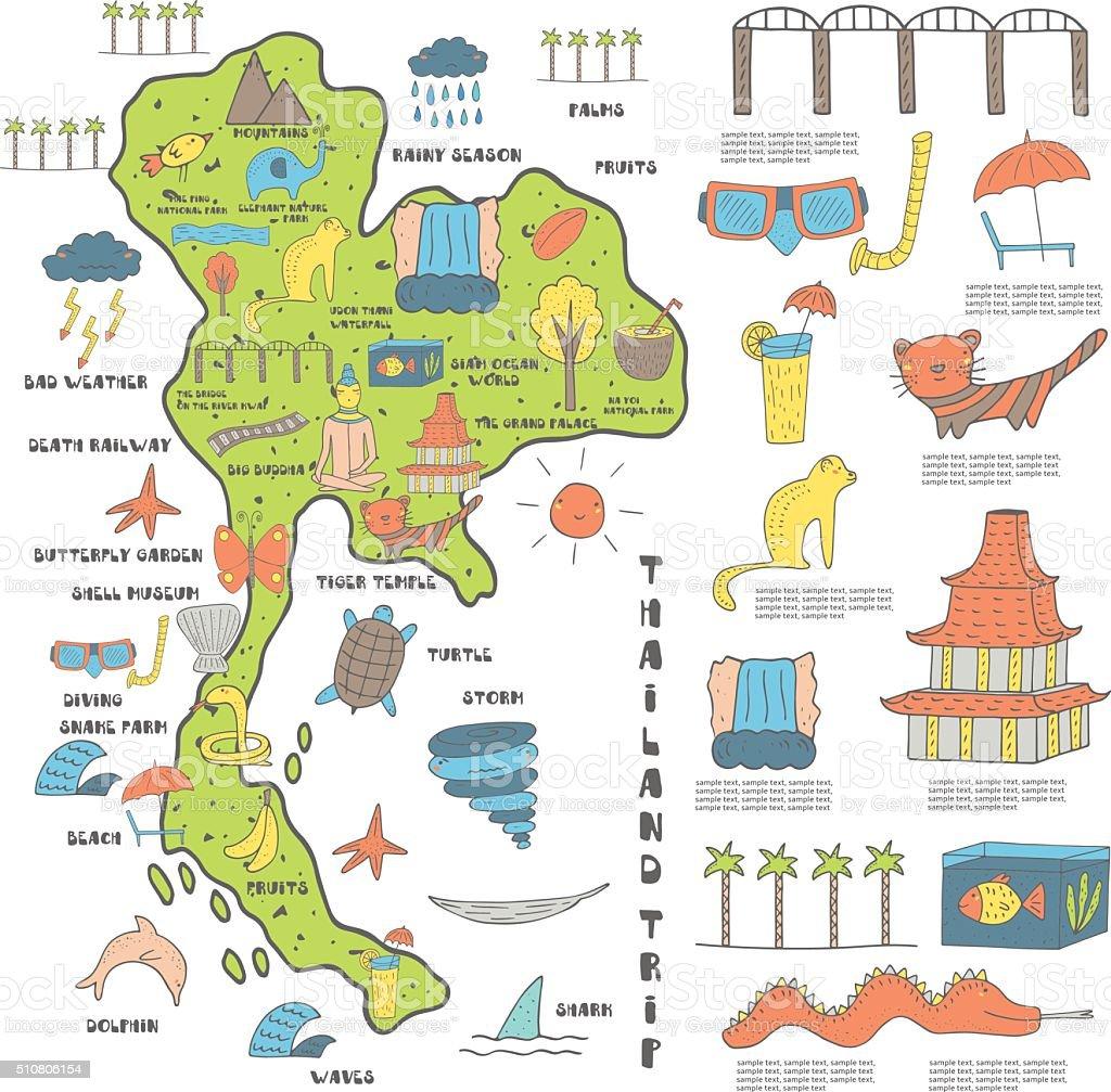 Thailand Map stock vector art 510806154 – Asia Map Test