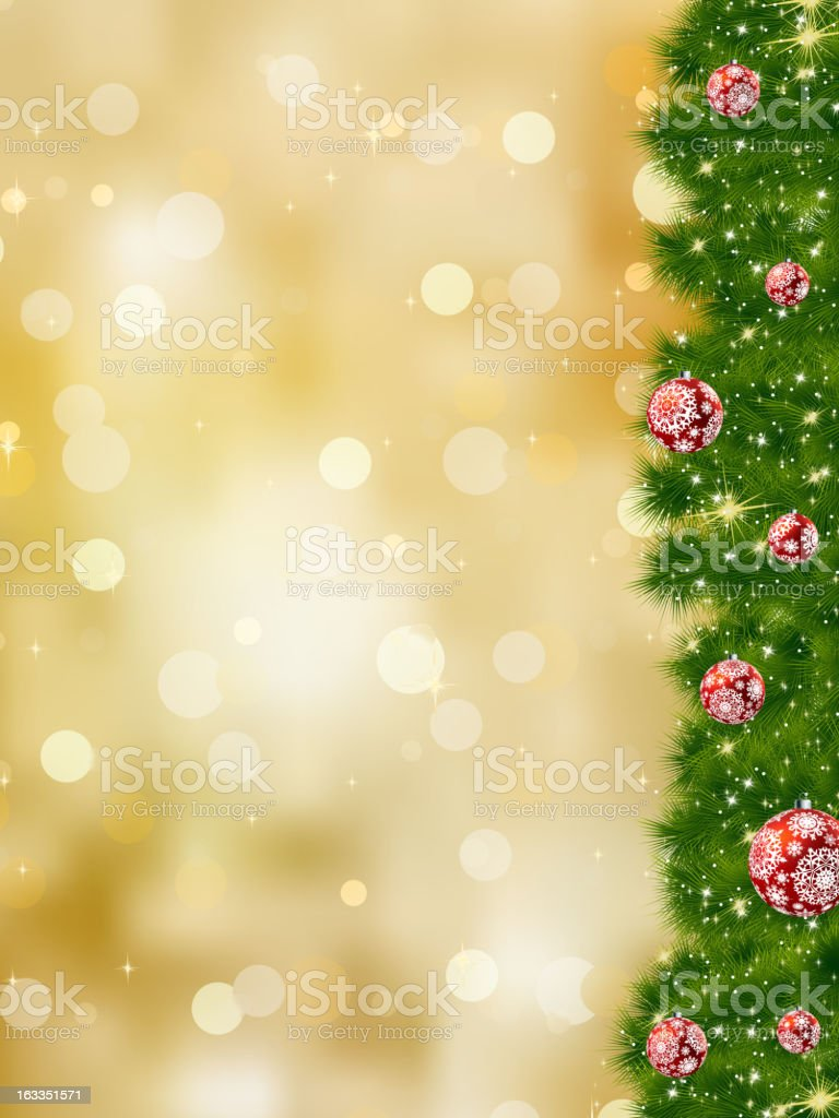 Thank you card a bright christmas. EPS 8 royalty-free stock vector art