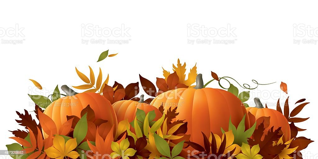 thanksgiving background vector art illustration