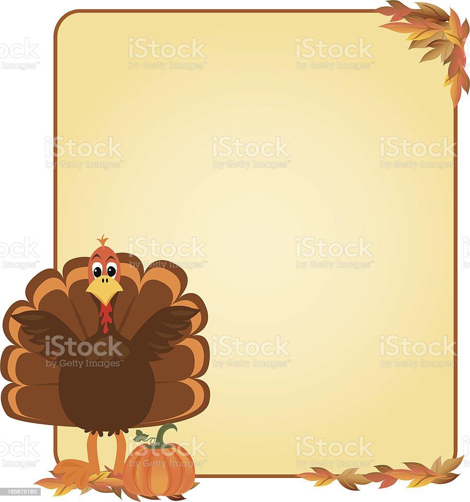 Thanksgiving Banner royalty-free stock vector art