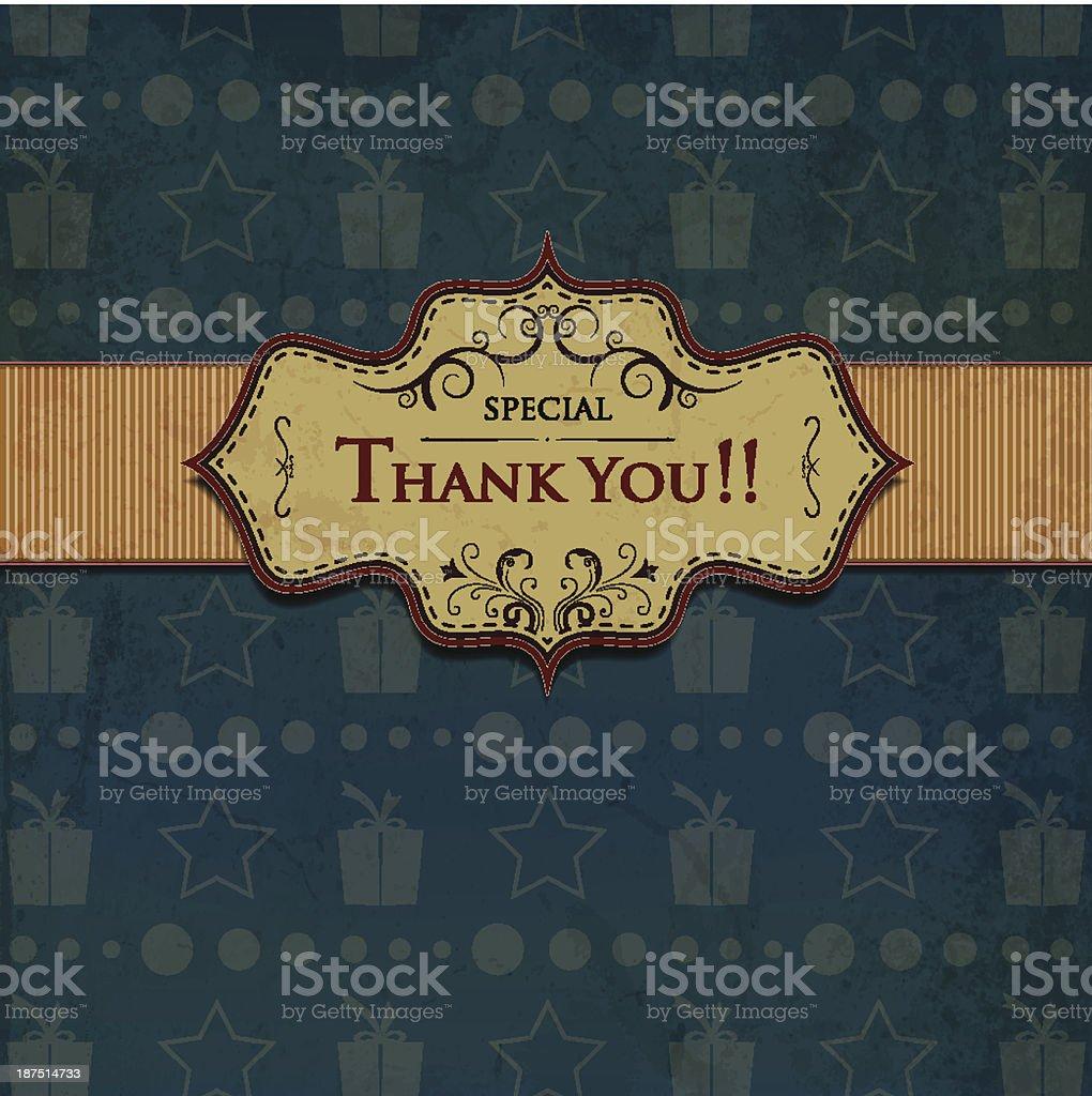 Thanksgiving Label royalty-free stock vector art
