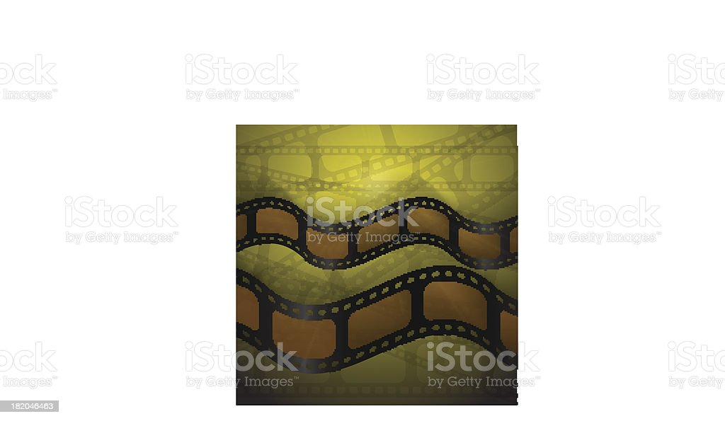 the bent movies royalty-free stock vector art