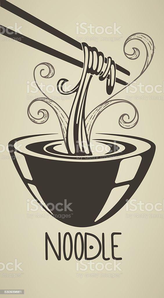 the best noodle illustration vector art illustration