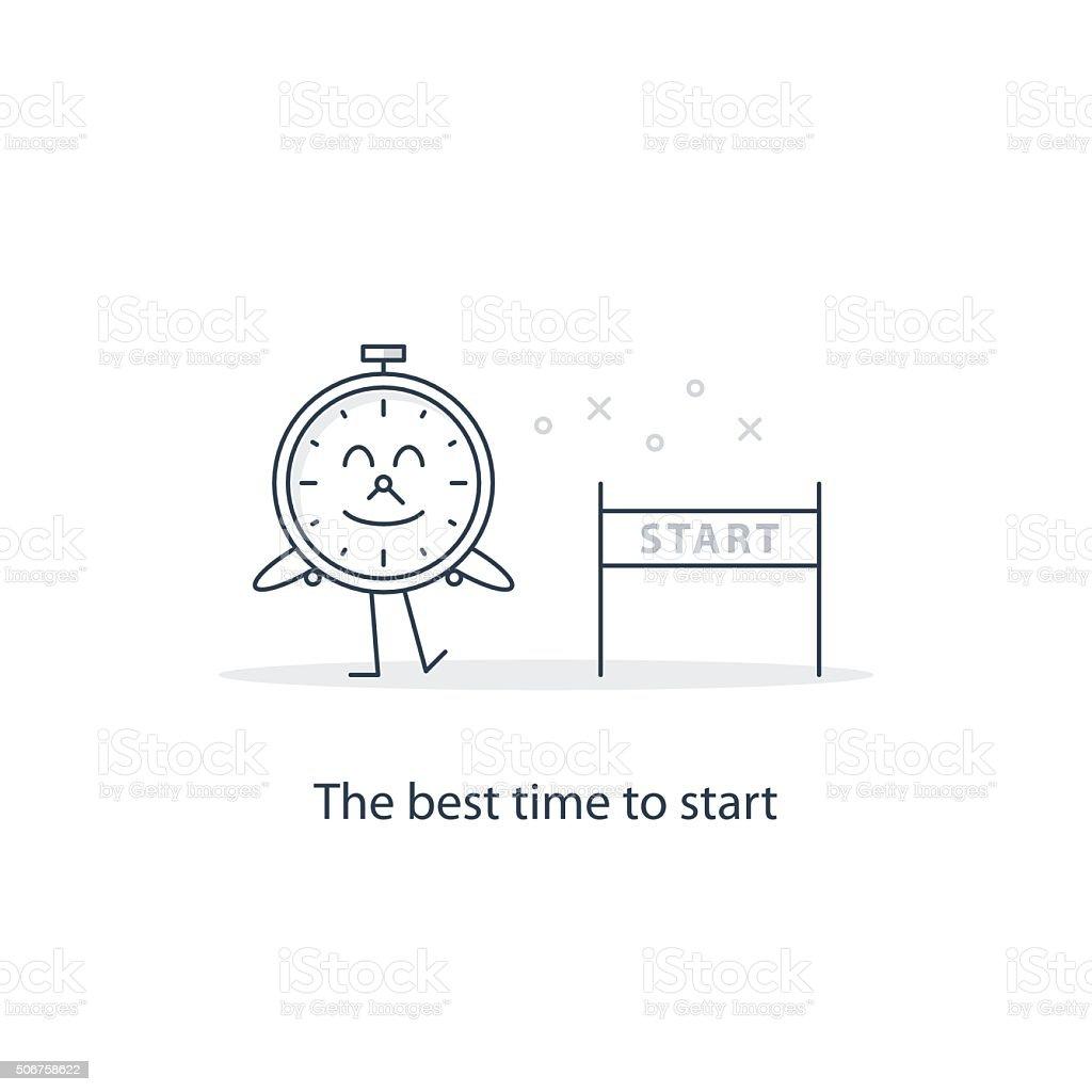 The best time to start vector art illustration