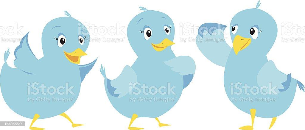 The Birds royalty-free stock vector art