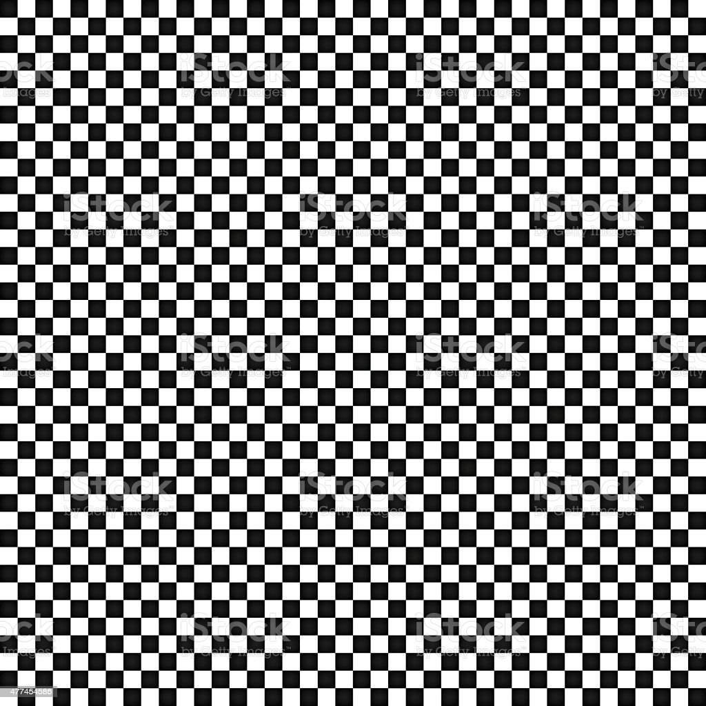 The black and white squares in a checkerboard pattern vector vector art illustration