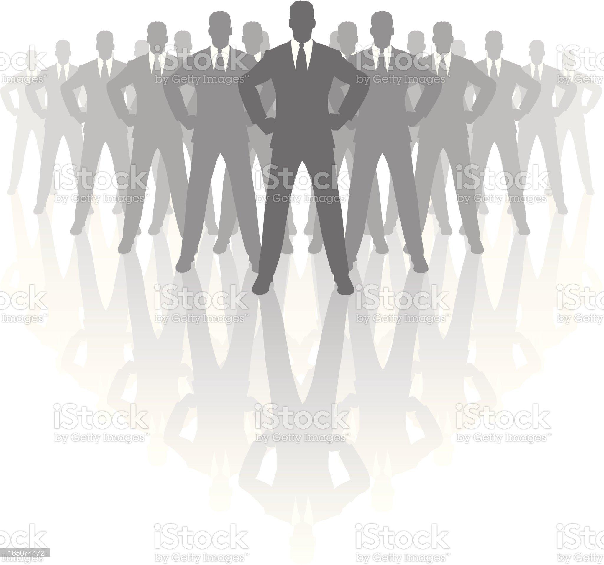 The boss. royalty-free stock vector art