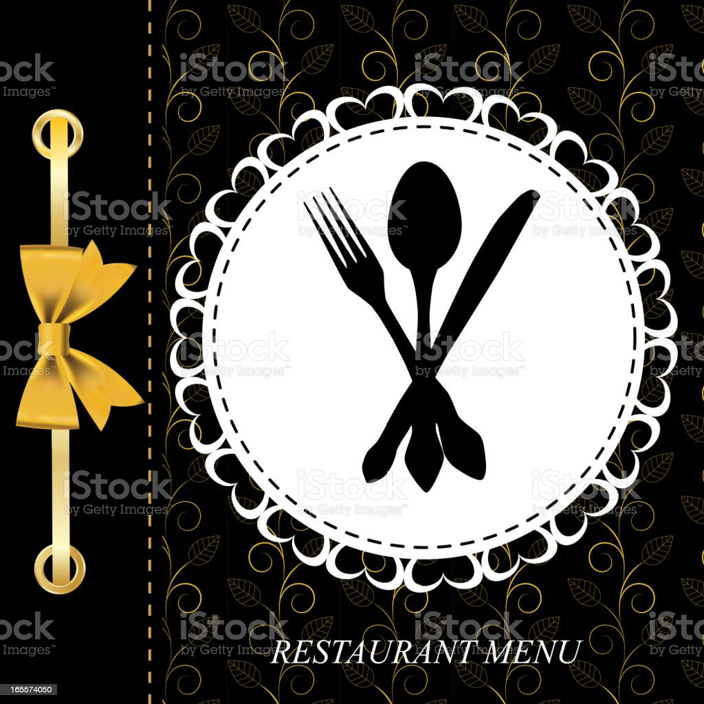 The concept of Restaurant menu. royalty-free stock vector art